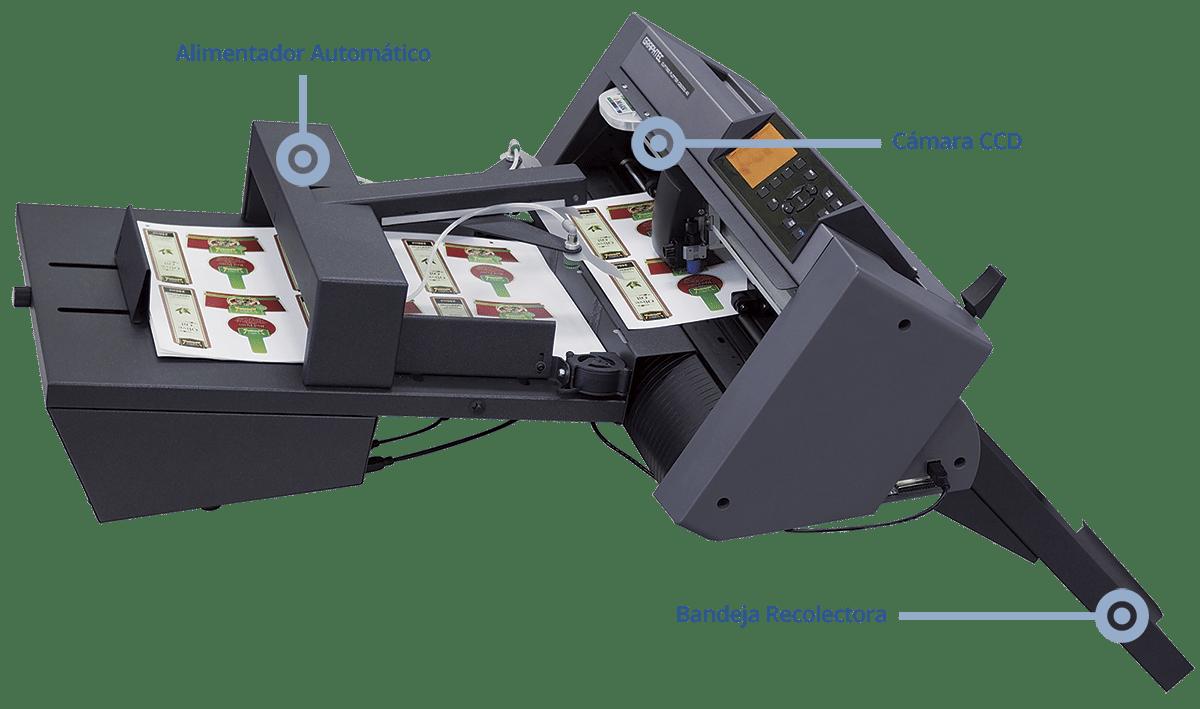 Graphtec ASC cortador automatico de hojas